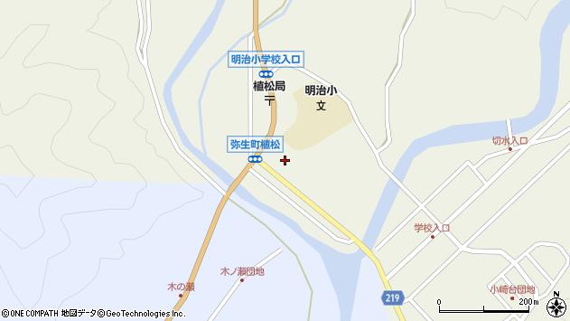 大分県佐伯市弥生大字大坂本1097周辺の地図