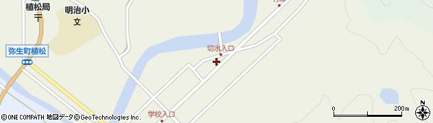 大分県佐伯市弥生大字大坂本501周辺の地図