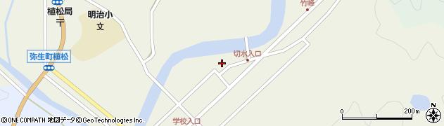 大分県佐伯市弥生大字大坂本600周辺の地図