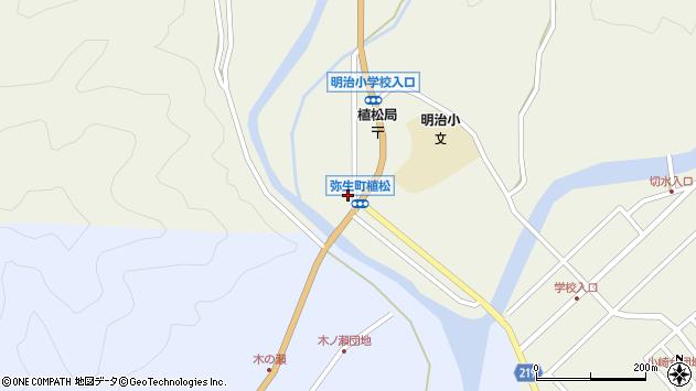 大分県佐伯市弥生大字大坂本1039周辺の地図