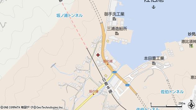 大分県佐伯市鶴望4943周辺の地図