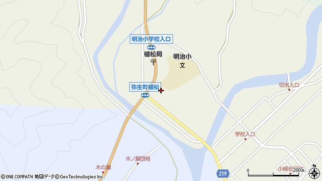大分県佐伯市弥生大字大坂本1083周辺の地図