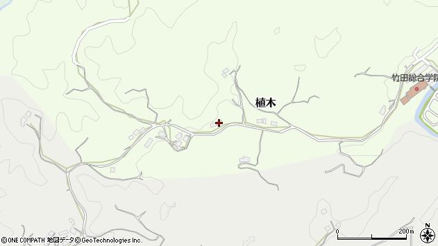 大分県竹田市植木473周辺の地図