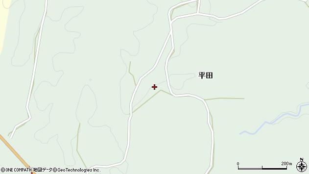 大分県竹田市平田2457周辺の地図