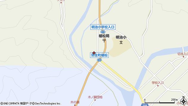 大分県佐伯市弥生大字大坂本1076周辺の地図