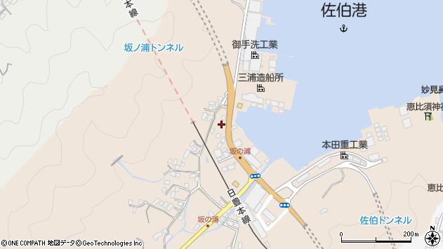大分県佐伯市鶴望4934周辺の地図