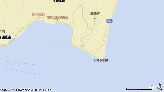 大分県佐伯市石間浦993周辺の地図