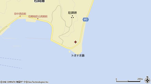 大分県佐伯市石間浦1037周辺の地図