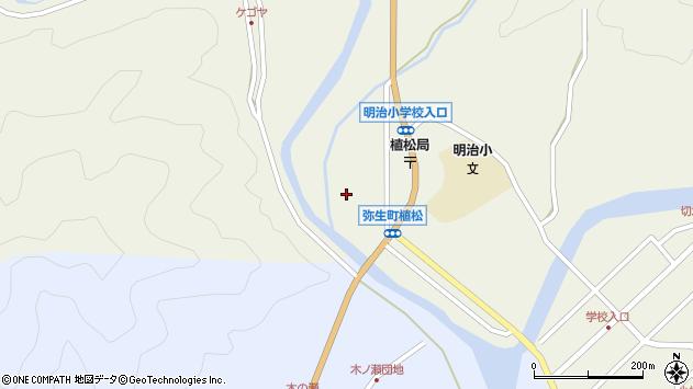 大分県佐伯市弥生大字大坂本1046周辺の地図