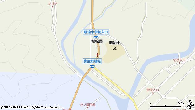 大分県佐伯市弥生大字大坂本1102周辺の地図