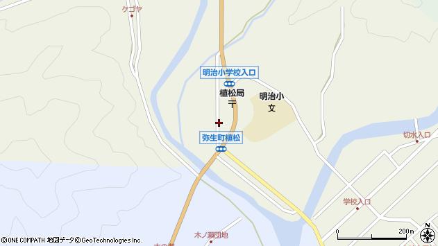 大分県佐伯市弥生大字大坂本周辺の地図