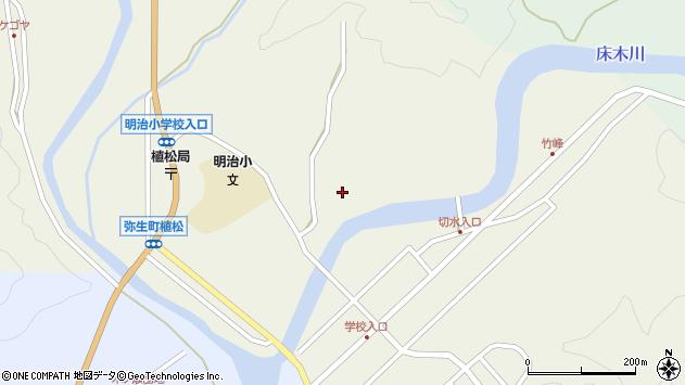 大分県佐伯市弥生大字大坂本787周辺の地図