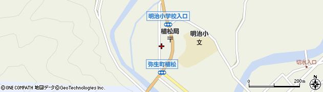大分県佐伯市弥生大字大坂本1064周辺の地図