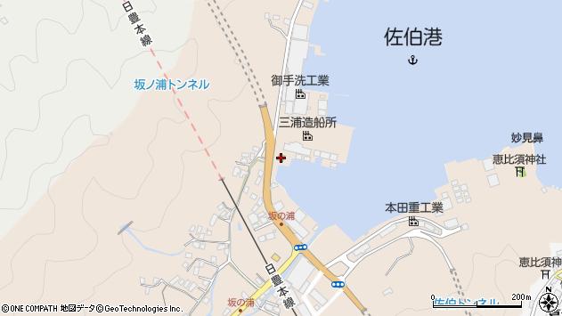 大分県佐伯市鶴望4921周辺の地図