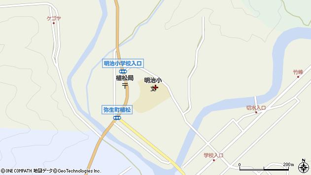 大分県佐伯市弥生大字大坂本1135周辺の地図