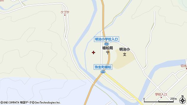 大分県佐伯市弥生大字大坂本1059周辺の地図