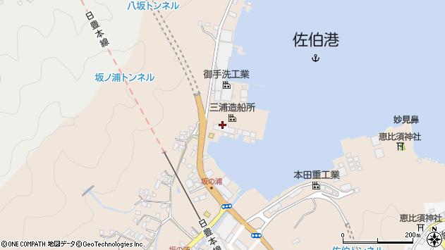 大分県佐伯市鶴望4900周辺の地図