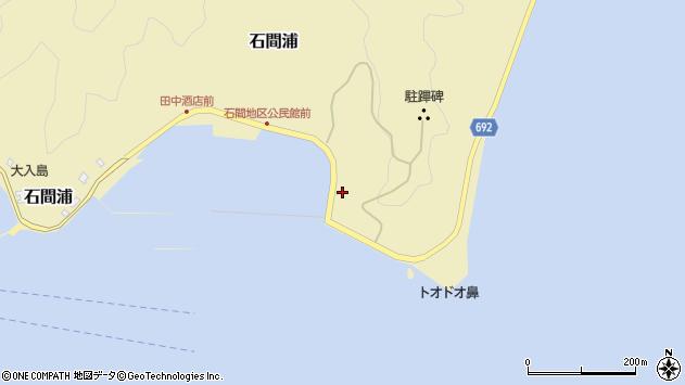大分県佐伯市石間浦161周辺の地図