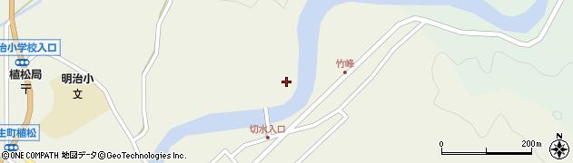 大分県佐伯市弥生大字大坂本670周辺の地図