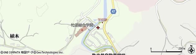 大分県竹田市植木752周辺の地図