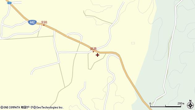 大分県竹田市米納1370周辺の地図