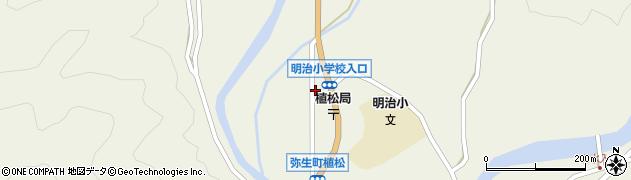 大分県佐伯市弥生大字大坂本1198周辺の地図