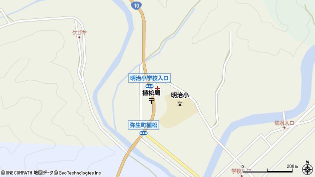 大分県佐伯市弥生大字大坂本1165周辺の地図
