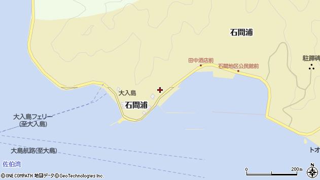 大分県佐伯市石間浦514周辺の地図