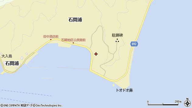 大分県佐伯市石間浦174周辺の地図