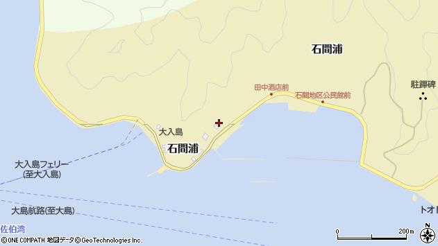 大分県佐伯市石間浦513周辺の地図
