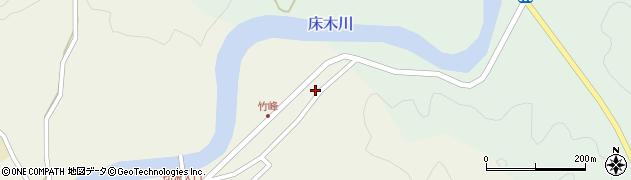 大分県佐伯市弥生大字大坂本18周辺の地図