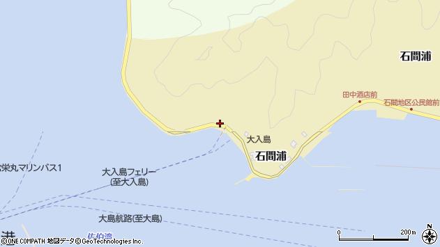 大分県佐伯市石間浦574周辺の地図
