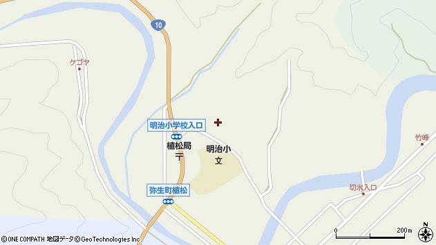 大分県佐伯市弥生大字大坂本942周辺の地図
