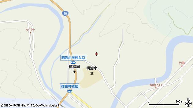 大分県佐伯市弥生大字大坂本941周辺の地図