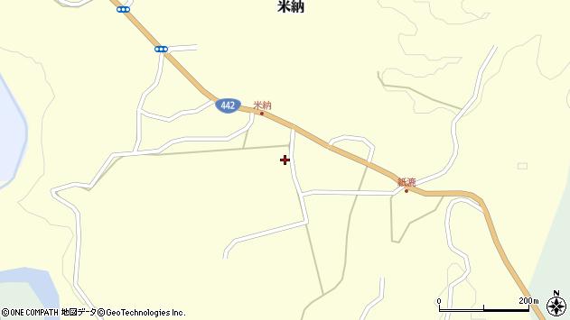 大分県竹田市米納565周辺の地図