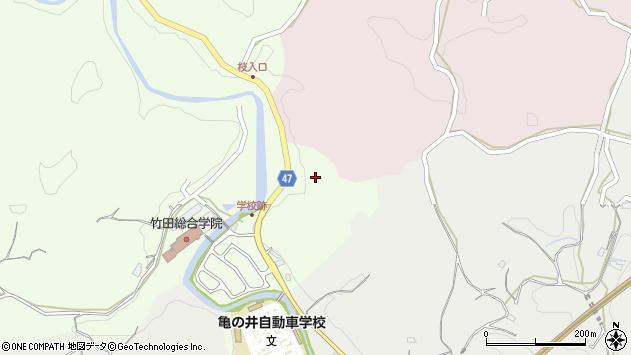 大分県竹田市植木790周辺の地図