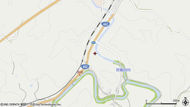 大分県竹田市挟田1451周辺の地図