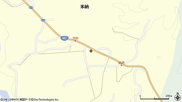 大分県竹田市米納1278周辺の地図