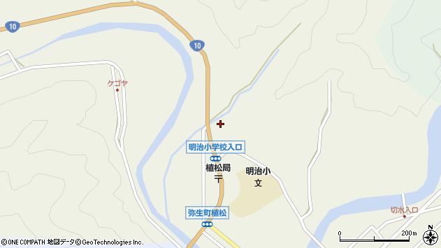 大分県佐伯市弥生大字大坂本1182周辺の地図