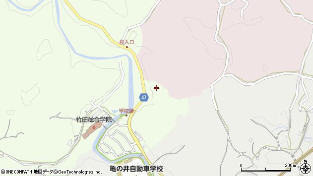 大分県竹田市植木787周辺の地図