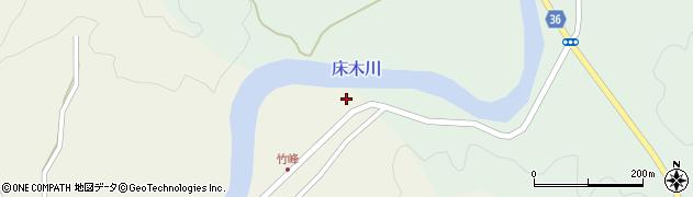 大分県佐伯市弥生大字床木4周辺の地図