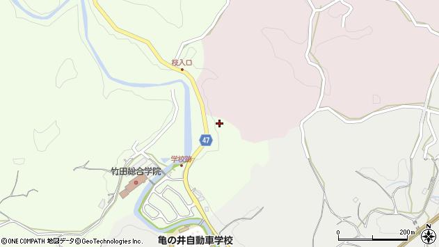 大分県竹田市植木786周辺の地図