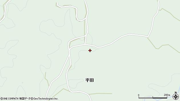 大分県竹田市平田3413周辺の地図