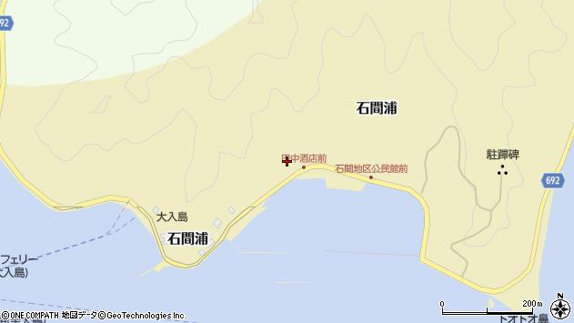 大分県佐伯市石間浦484周辺の地図
