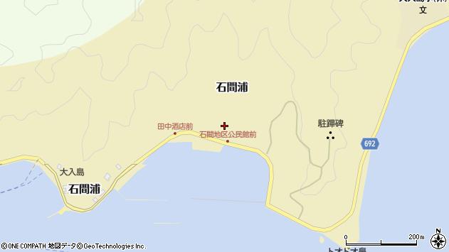 大分県佐伯市石間浦378周辺の地図