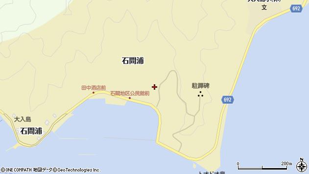 大分県佐伯市石間浦251周辺の地図