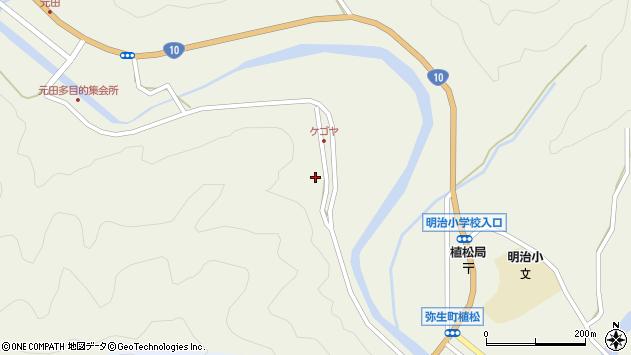 大分県佐伯市弥生大字大坂本2401周辺の地図