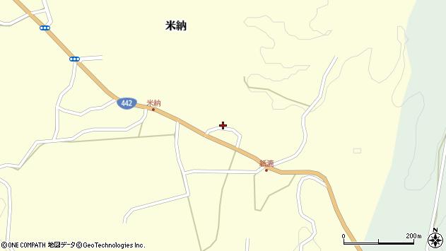 大分県竹田市米納1261周辺の地図