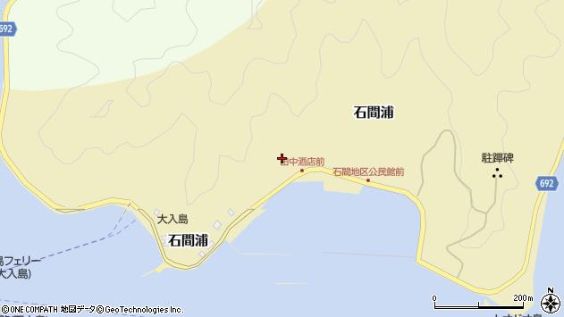 大分県佐伯市石間浦483周辺の地図
