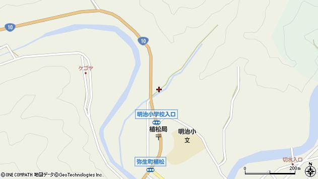 大分県佐伯市弥生大字大坂本1227周辺の地図